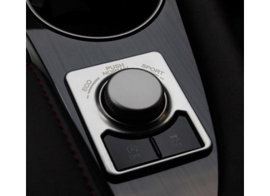 Хромированная накладка на ручку режима для Lexus RX 2015-по н.в.