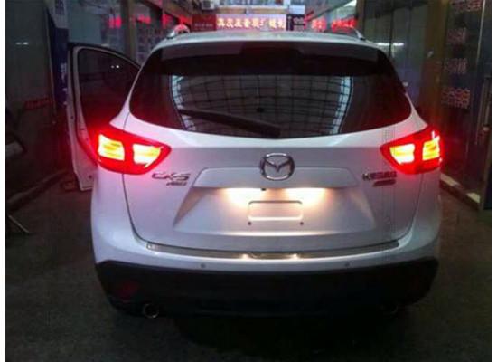 Задние фонари на Mazda CX 5, Вариант 1 (фото)