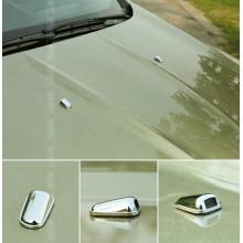Хром накладки на форсунки для Ford Kuga 2 (фото)