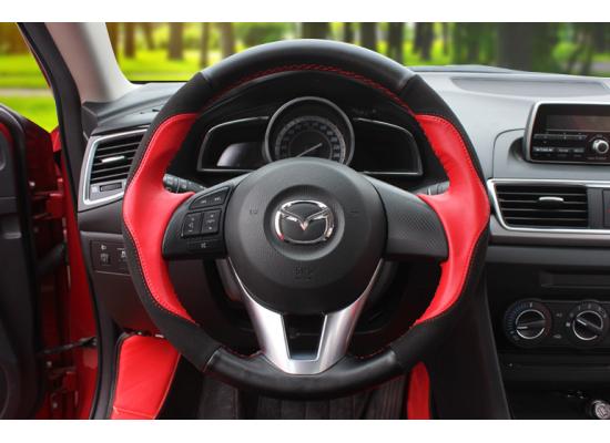 Кожа на руль для Mazda CX5 I и II