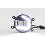 Светодиодные противотуманные фары с ДХО С-образные