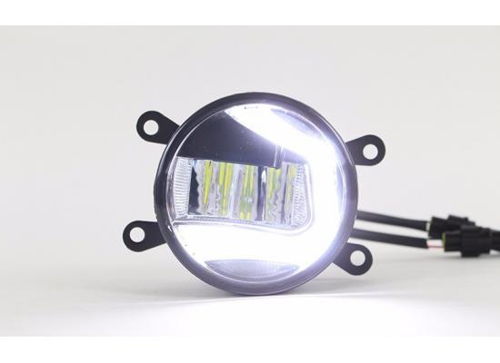 Светодиодные противотуманные фары с ДХО С-образные купить за 4 990 р.: Цены, Обзор, Отзывы в магазине тюнинга и аксессуаров MIRDHO.RU