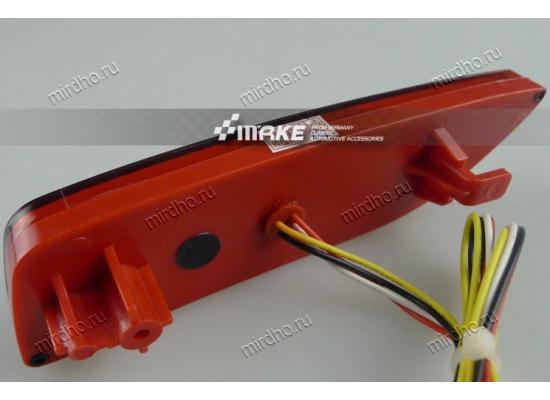 Задние габариты (ДХО) + доп. стоп сигналы + доп. поворотники для Toyota Corolla E150 2010-13 (фото)