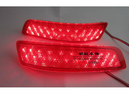 Задние габариты (ДХО) + доп. стоп сигналы Toyota Corolla 2013-16. Тайвань