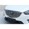 Хромированные накладки на решетку радиатора для Mazda CX-5 2015-17 Рестайлинг