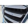 Хромированные накладки на решетку радиатора для Mazda CX-5 2015-17 Рестайлинг (фото)