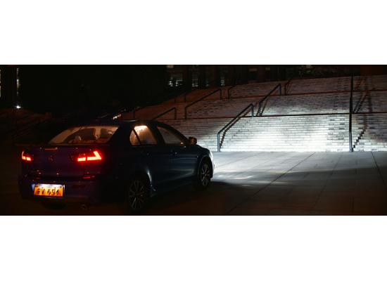 Фары для Mitsubishi Lancer X 2007- по н.в. (фото)