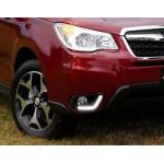 ДХО для Subaru Forester 4 2013-16 в заглушки ПТФ