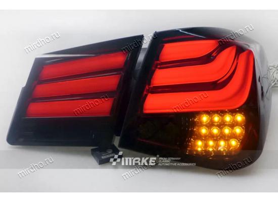 Задняя оптика для Chevrolet Cruze 2009-13 в стиле БМВ 5 серии (фото)