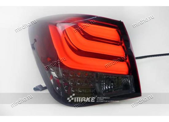 Задняя оптика для Chevrolet Cruze 2009-15 в стиле БМВ 5 серии