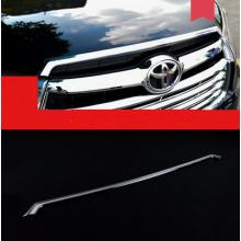 Хромированные накладки на решетку радиатора для Toyota Highlander 3 2013-16 (фото)