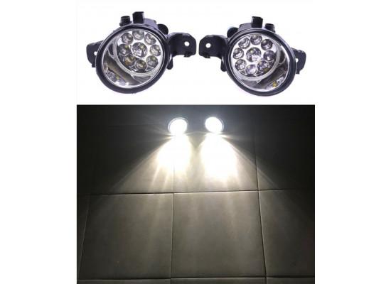 Светодиодные LED ПТФ для Nissan \ Infiniti овальные (фото)