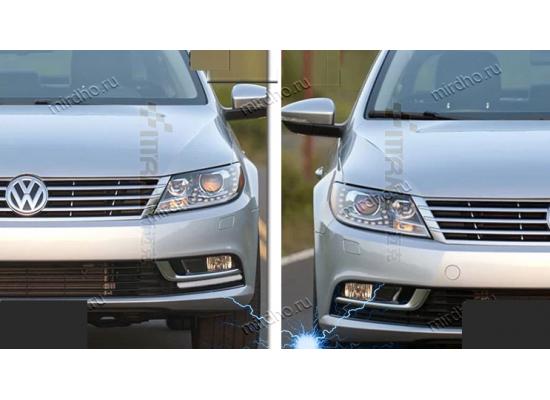 ДХО для Volkswagen Passat СС Рестаилинг 2011-по н.в. Полоса последнего поколения