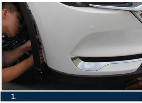 ДХО для Mazda CX 5 2-е поколение 2017-по н.в. вариант 1 (фото)