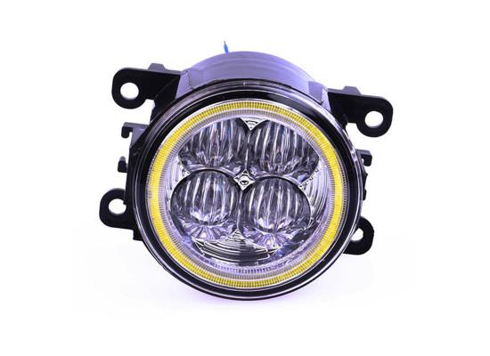 Мощные светодиодные ПТФ с ДХО кольцо