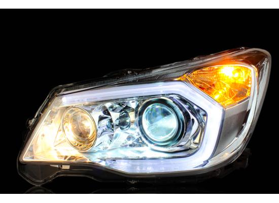 Фары для Subaru Forester IV 2013- по н.в. Вариант 2 (фото)