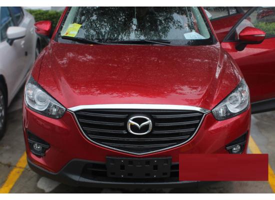 Хромированная накладка на капот для Mazda CX-5 2011-17 (фото)