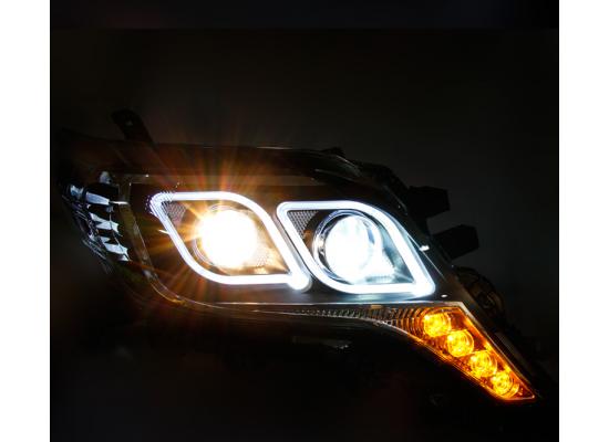 Фары для Toyota Prado 2013- по н.в. Вариант 3 (фото)