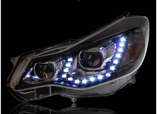 Фары на Subaru XV I 2011-16 (фото)