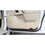 Кожаные накладки на двери для Toyota Land Cruiser Prado 2009- по н.в.