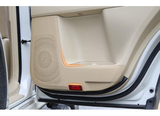 Кожаные накладки на двери для Toyota Land Cruiser Prado 2009- по н.в. (фото)