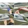 Хромированные накладки на бампер под фары для Ford Kuga 2 (фото)