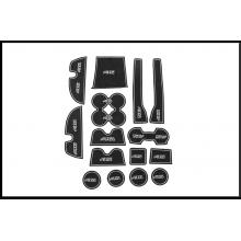 Антискользящие коврики для Toyota Land Cruiser Prado Рестайлинг 1 2009-17 (фото)