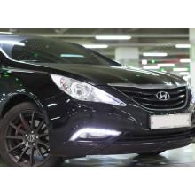 ДХО на Hyundai Sonata 8 (фото)