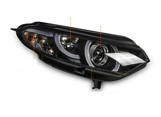 Фары для Ford EcoSport 2014-по н.в. в стиле Range Rover Evoque (фото)