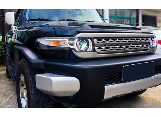 Фары на Toyota FJ Cruiser в стиле Range Rover (фото)