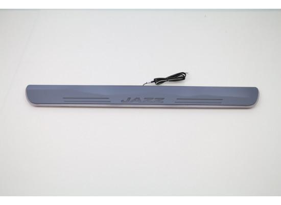 Накладки на пороги LED для Honda Jazz