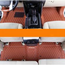 Кожаные коврики в салон 5 мест без серого ворса для Toyota Land Cruiser Prado 2009- по н.в.