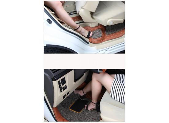 Кожаные коврики в салон для Toyota Land Cruiser Prado 2009- по н.в. (фото)