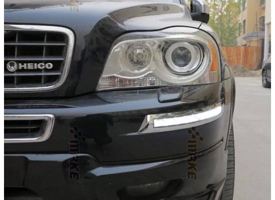 ДХО для Volvo XC90 2006-14 с поворотниками (фото)