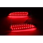 Задние габариты (ДХО) + доп. стоп сигналы + доп. поворотники Mazda 3 III седан 2013 - 2016. Вариант 2