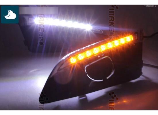 ДХО для Chevrolet Aveo 2 (фото)