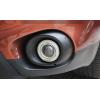 Противотуманные фары с ангельскими глазками для Mitsubishi Outlander 3 2012-15 (фото)