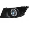 Противотуманные фары с ангельскими глазками для Subaru Legacy V Рестаилинг 2012-14