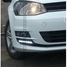 ДХО для Volkswagen Golf 7 2013-по н.в. Вариант 5 (фото)