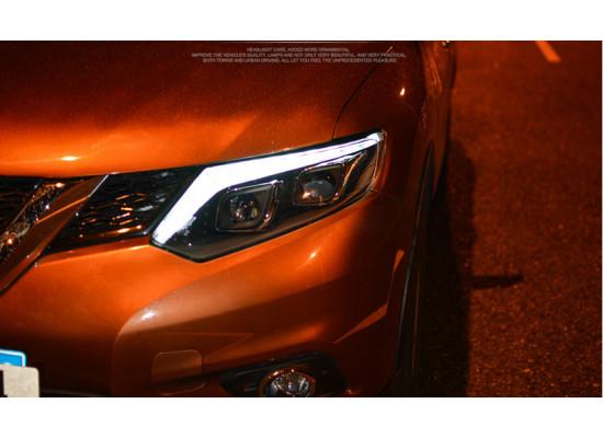Фары для Nissan X-Trail 3 2015-по н.в. Вариант 1 (фото)