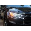 Фары для Toyota Highlander 3 2013-16. Вариант 4 (фото)