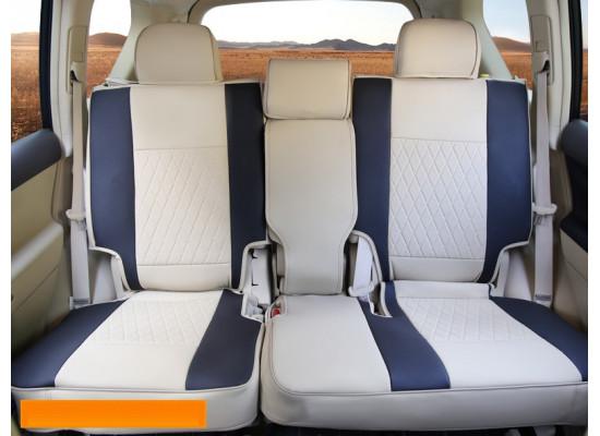 Чехлы на сиденья для Toyota Land Cruiser Prado 2009-н.в. (фото)