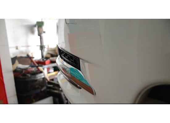 ДХО для Chevrolet Cruze 9 диодов с поворотниками (фото)