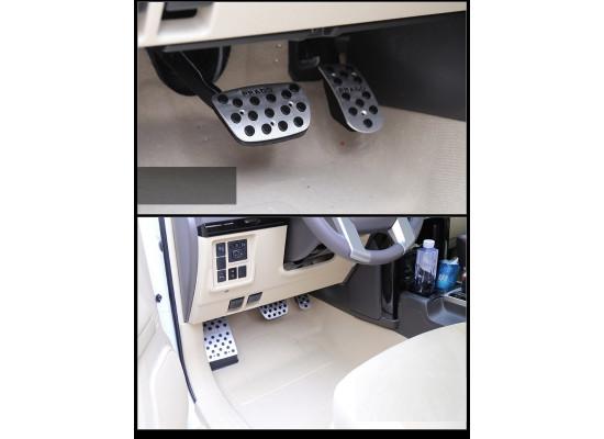 Накладки на педали для Toyota Land Cruiser Prado 2009- по н.в. (фото)
