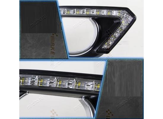 ДХО на Nissan X-TRAIL Т32 2013- по н.в. (дорестайлинг) Ниссан Х Трейл Вариант 1
