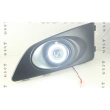 Противотуманные фары с ангельскими глазками для Chevrolet Aveo 2 (фото)