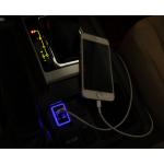 USB зарядка в штатное место для Toyota Land Cruiser Prado 2009-17 (не для 2-го рестайлинга)