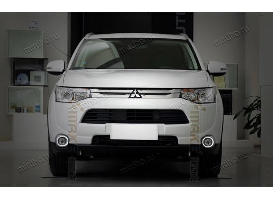 ДХО для Mitsubishi Outlander 3 2012-15 дорестаилинг (фото)