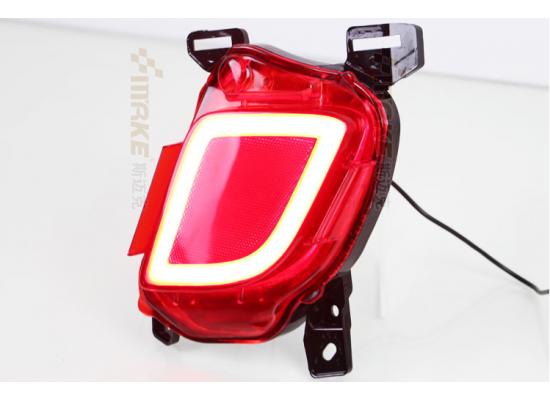Задние габариты (ДХО) + доп. стоп сигналы + доп. поворотники для Toyota Highlander 3 2013-16