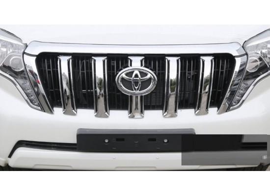 Тюнинг решетки радиатора для Toyota Land Cruiser Prado 150 2013-17 Рестайлинг 1 (фото)